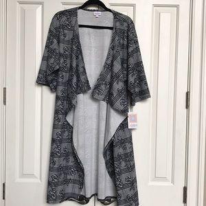 LuLaRoe Medium Shirley Kimono NWT